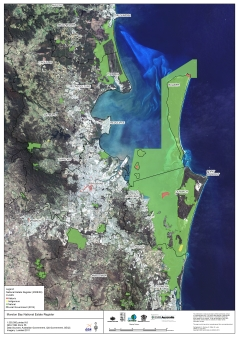 Moreton Bay National Estate Register Map 2009
